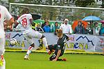 20.07.2018, Zillertalarena, Zell am Ziller, AUT, FSP, 1.FBL, SV Werder Bremen (GER) vs 1. FC Koeln (GER), im Bild<br /> <br /> Sehrou Guirassy (Koeln #19)<br /> Fridolin Wagner (Werder Bremen #25)<br /> <br /> Foto © nordphoto / Kokenge