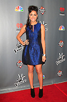 WEST HOLLYWOOD - NOV 8: Sylvia Yacoub at the NBC's 'The Voice' Season 3 at House of Blues Sunset Strip on November 8, 2012 in West Hollywood, California.  Credit: MediaPunch Inc. /NortePhoto.com