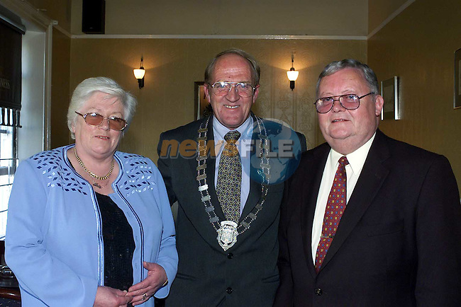 Gerry Halpenny and Michael and Betty Bell.