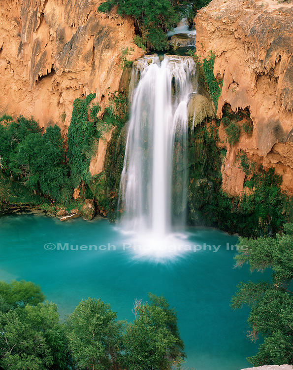 Havasu Falls, Havasupai Indian Reservation, Grand Canyon National Park