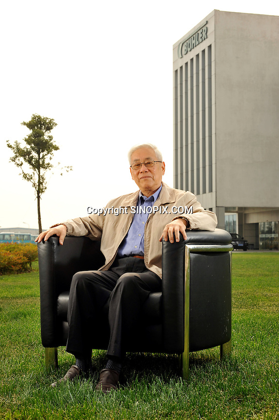 Mr He at wuxi.<br /> <br /> Photo by Richard Jones
