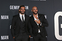 "LOS ANGELES - OCT 6:  Adil El Arbi, Bilall Fallah at the ""Gemini"" Premiere at the TCL Chinese Theater IMAX on October 6, 2019 in Los Angeles, CA"