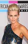 LOS ANGELES, CA. - November 21: Jenny McCarthy arrives at the 2010 American Music Awards held at Nokia Theatre L.A. Live on November 21, 2010 in Los Angeles, California.