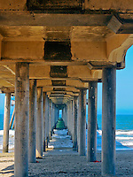 Under the Huntington Beach Pier