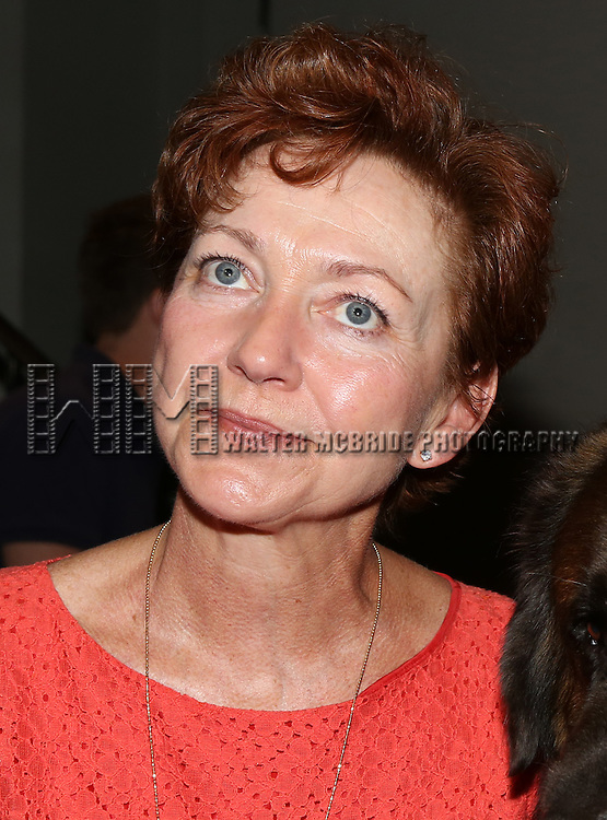 Julie White attends the Dog Auditions for a Cameo in Broadway's 'Sylvia' held at the Daryl Roth Theatre on August 3, 2015 in New York City.