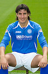 St Johnstone FC...Season 2011-12.Francisco Sandaza.Picture by Graeme Hart..Copyright Perthshire Picture Agency.Tel: 01738 623350  Mobile: 07990 594431