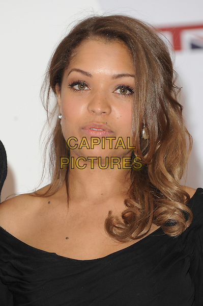 Antonia Thomas.The UK Creative Industries Reception supported by The Founders Forum, at the Royal Academy of Arts, London, as part of HM Government's GREAT campaign alongside the very best of the UK Creative Industries from the fields of music, film, art and entertainment..30th July 2012 .headshot portrait black .CAP/BEL.©Tom Belcher/Capital Pictures.