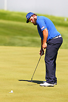 Andrew beefy Johnston sinks his putt on the 18th green during the BMW PGA Golf Championship at Wentworth Golf Course, Wentworth Drive, Virginia Water, England on 26 May 2017. Photo by Steve McCarthy/PRiME Media Images.