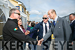 Prince Edward, Duke of Kent,  visited  the RNLI Lifeboat station in Fenit on Tuesday and met Tony and Hannah Stack with Gerard O'Donnell (Lifeboat Operations Manager)