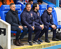 Reading Manager Jose Gomes left during Reading vs Wigan Athletic, Sky Bet EFL Championship Football at the Madejski Stadium on 9th March 2019