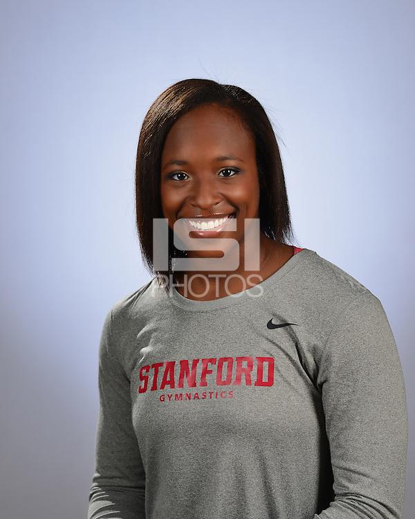Stanford, Ca, November 21, 2016. - The 2016-2017 Stanford Women's Gymnastics Team