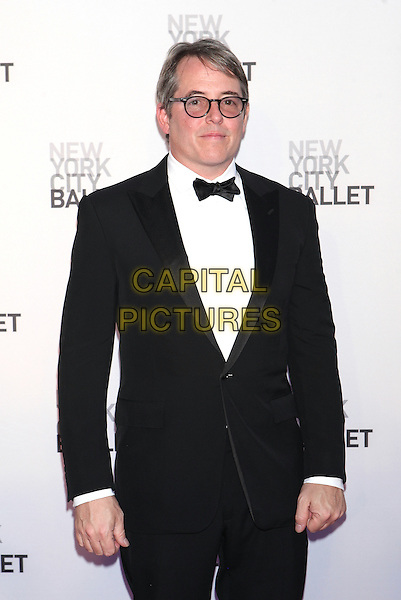 NEW YORK, NY - SEPTEMBER 20: Matthew Broderick attends  New York City Ballet 2016 Fall Gala at David H. Koch Theater on September 20, 2016 in New York City. <br /> CAP/MPI99<br /> &copy;MPI99/Capital Pictures