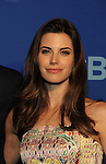 """Meghan Ory - """"Intelligence"""" at the CBS Upfront on May 15, 2013 at Lincoln Center, New York City, New York. (Photo by Sue Coflin/Max Photos)"""