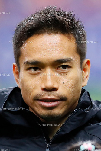 Yuto Nagatomo (JPN), <br /> MARCH 28, 2017 - Football / Soccer : <br /> FIFA World Cup Russia 2018 Asian Qualifier <br /> Final Round Group B <br /> between Japan 4-0 Thailand <br /> at Saitama Stadium 2002, Saitama, Japan. <br /> (Photo by Yohei Osada/AFLO)