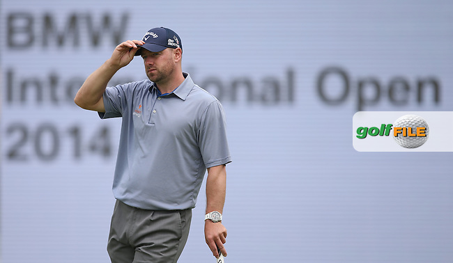 Craig Lee (SCO) unable to advance his R3 score and finished T33 (-12) during the Final Round of the BMW International Open 2014 from Golf Club Gut Lärchenhof, Pulheim, Köln, Germany. Picture:  David Lloyd / www.golffile.ie
