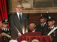 Apertura Anno Giudiziario nel distretto di Napoli nello storico salone dei Busti di Castel Capuano<br /> giovanni Melillo