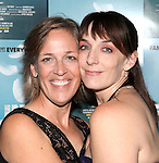 Director Lori Adams and Julia Murney attending the Off-Broadway Opening Night Performance After Party for 'Falling' at Knickerbocker Bar & Grill on October 15, 2012 in New York City.