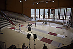 30.7.2015, Berlin Olympic Park. Fencing competitions during the 14th European Maccabi Games.