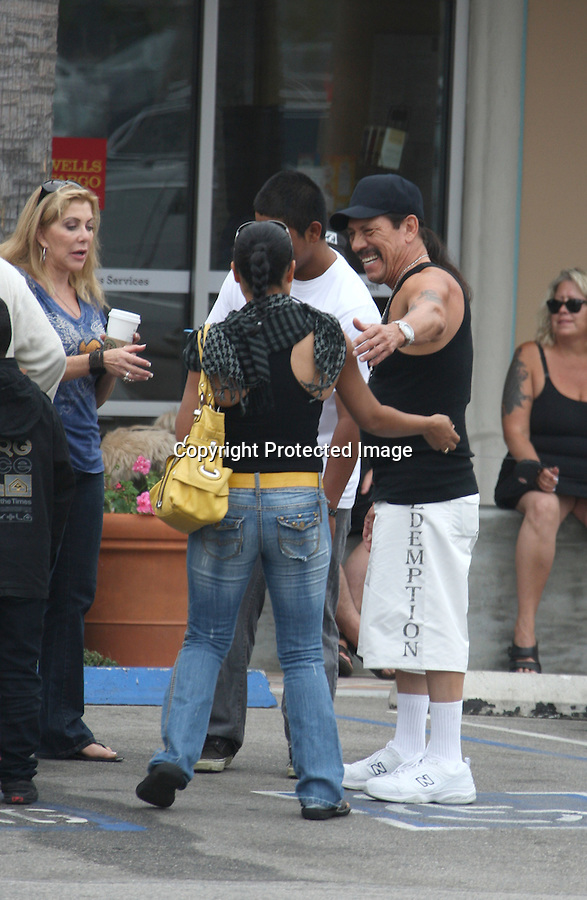 September 5th 2010..Danny Trejo star of the new movie Machete stopped to hug & kiss some dogs up for adoption in Malibu California. Danny talked with fans & took pictures with dozens of people. Danny was helping out The Linda Blair WorldHeart Foundation  ..AbilityFilms@yahoo.com.805-427-3519.www.AbilityFilms.com.