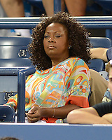 FLUSHING NY- SEPTEMBER 3: Star Jones is sighted watching Serena and Venus Williams Vs Kerlenko Petrova on Armstrong stadium at the USTA Billie Jean King National Tennis Center on September 3, 2012 in in Flushing Queens. Credit: mpi04/MediaPunch Inc. ***NO NY NEWSPAPERS*** /NortePhoto.com<br /> <br /> **CREDITO*OBLIGATORIO** <br /> *No*Venta*A*Terceros*<br /> *No*Sale*So*third*<br /> *** No*Se*Permite*Hacer*Archivo**<br /> *No*Sale*So*third*