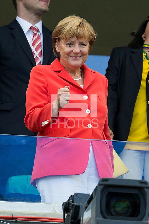 The German Chancellor Angela Merkel
