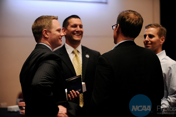 31 MAR 2011: The Salute Presentation and Reception at the Wortham Center during the 2011 NCAA Men's Division I Basketball Final Four at Reliant Stadium in Houston, TX. ©Brett Wilhelm/NCAA Photos