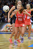 7th September 2017, Te Rauparaha Arena, Wellington, New Zealand; Taini Jamison Netball Trophy; New Zealand versus England;  Englands Helen Housby takes a pass