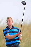 David Brazil (Castle Barna) on the 11th tee during Round 2 - Strokeplay of the North of Ireland Championship at Royal Portrush Golf Club, Portrush, Co. Antrim on Tuesday 10th July 2018.<br /> Picture:  Thos Caffrey / Golffile