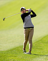 Caryn Khoo during the Charles Tour Augusta Funds Management Ngamotu Classic, Ngamotu Golf Course, New Plymouth, New Zealand, Saturday 14 October 2017.  Photo: Simon Watts/www.bwmedia.co.nz