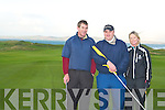 18th hole Tralee golf club l-r: Maurice O'Connor, Sylester Hennessy and Geraldine Williams.   Copyright Kerry's Eye 2008
