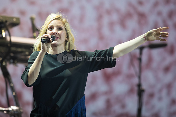 06th July 2017 - Ellie Goulding performs at Global Citizen Festival 2017 at Barclaycard Arena in Hamburg, Germany. | Verwendung weltweit/picture alliance /MediaPunch ***FOR USA ONLY***