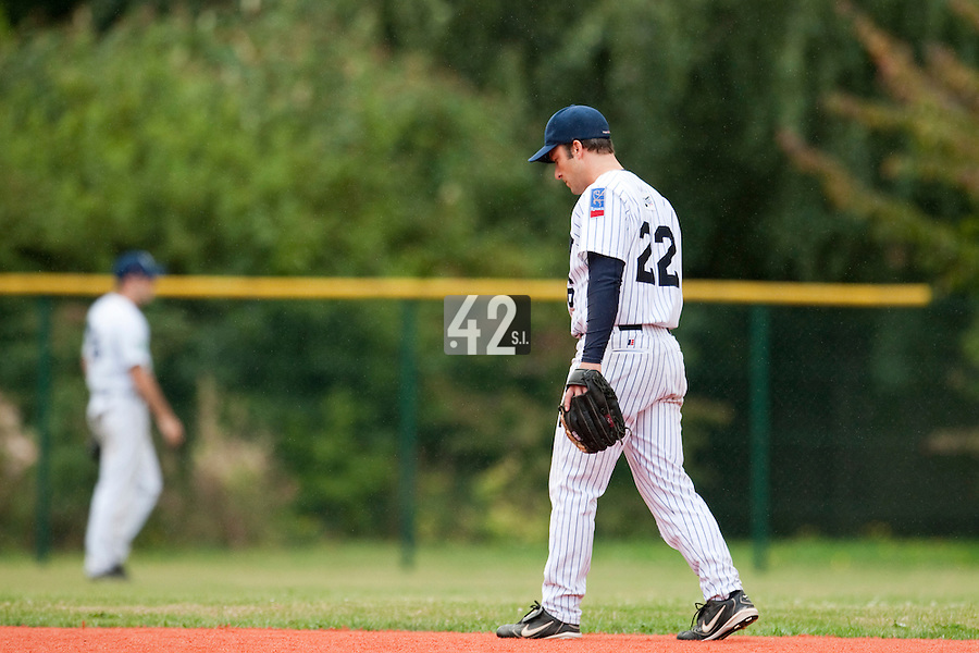 Baseball - French playoffs 2009 - Rouen (France) - 05/09/2009 - Rouen Huskies vs Savigny Lions.Dany Scalabrini (Rouen)