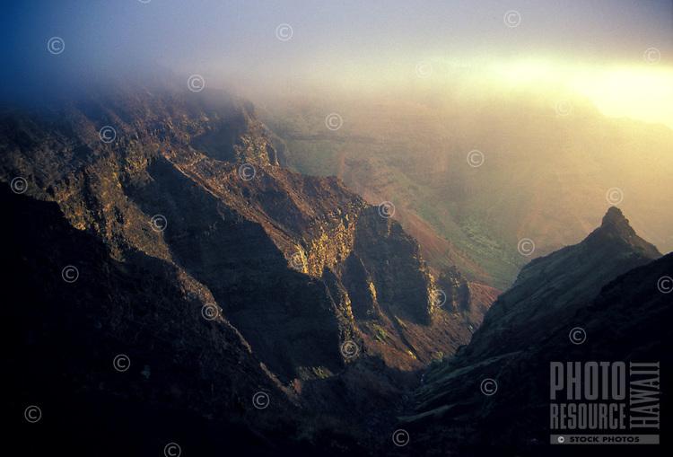 Misty Waimea Canyon