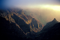 Misty Waimea Canyon