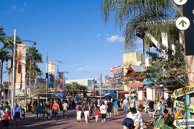 Shopping, Universal City Walk, Orlando, Florida