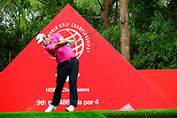Jon Rahm (ESP) on the 9th tee during the 2nd round at the WGC HSBC Champions 2018, Sheshan Golf CLub, Shanghai, China. 26/10/2018.<br /> Picture Fran Caffrey / Golffile.ie<br /> <br /> All photo usage must carry mandatory copyright credit (&copy; Golffile | Fran Caffrey)
