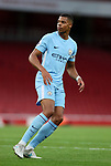Manchester City's Lukas Nmecha in action during the premier league 2 match at the Emirates Stadium, London. Picture date 21st August 2017. Picture credit should read: David Klein/Sportimage