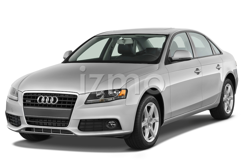 Front three quarter view of a 2011 Audi A4 Sedan