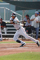 Ehire Adrianza - San Francisco Giants 2009 Instructional League .Photo by:  Bill Mitchell/Four Seam Images..