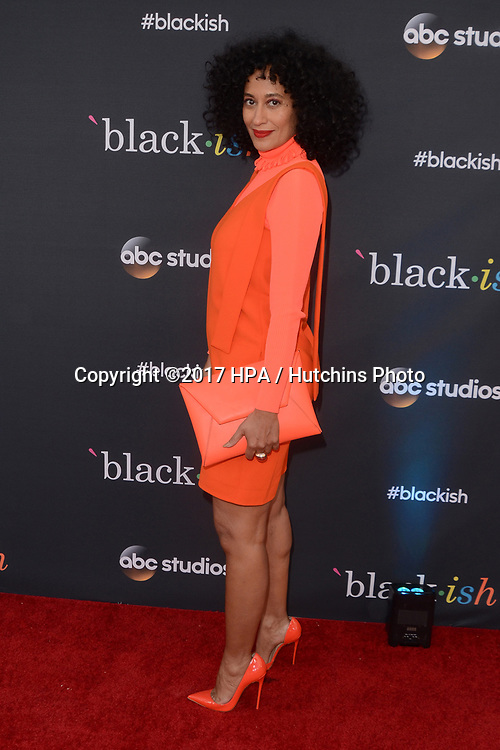 "LOS ANGELES - APR 12:  Tracee Ellis Ross at the ""Blackish"" FYC Event at the Television Academy, on April 12, 2017 in North Hollywood, CA"