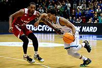 GRONINGEN - Basketbal, Donar - Benfica, voorronde Chamions League, seizoen 2019-2020, 20-09-2019,  Donar speler Carrington Love