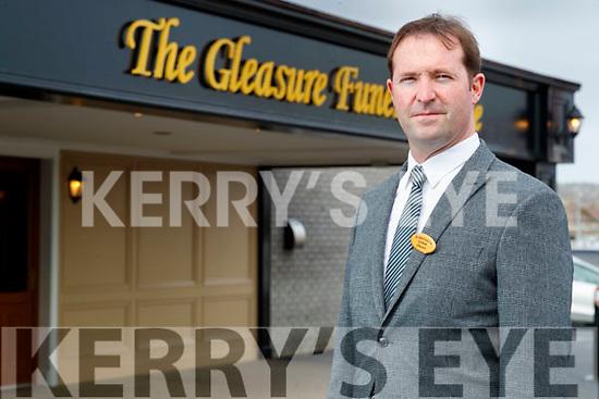 Graham Gleasure at The Gleasure Funeral home Tralee.
