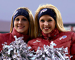 3 December 2006: Buffalo Jills cheerleaders pose during a game between the Buffalo Bills and the San Diego Chargers at Ralph Wilson Stadium in Orchard Park, New York. The Charges defeated the Bills 24-21. Mandatory Photo Credit: Ed Wolfstein Photo<br />