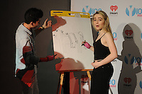 www.acepixs.com<br /> <br /> February 6 2017, Ft Lauderdale<br /> <br /> Sabrina Carpenter and DJ Franky P made an appearance at I Heart Radio Station Y-100 on February 6, 2017 in Fort Lauderdale, Florida<br /> <br /> By Line: Solar/ACE Pictures<br /> <br /> ACE Pictures Inc<br /> Tel: 6467670430<br /> Email: info@acepixs.com<br /> www.acepixs.com