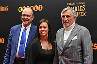 20190116 – PUURS ,  BELGIUM : Piet Den Boer (R) pictured during the  65nd men edition of the Golden Shoe award ceremony and 3nd Women's edition, Wednesday 16 January 2019, in Puurs at the Studio 100 Pop Up studio. The Golden Shoe (Gouden Schoen / Soulier d'Or) is an award for the best soccer player of the Belgian Jupiler Pro League championship during the year 2018. The female edition is the 3th one in Belgium.  PHOTO DIRK VUYLSTEKE | Sportpix.be