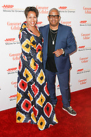 BEVERLY HILLS, CALIFORNIA - FEBRUARY 04: Robin Burgess and Terence Blanchard at AARP The Magazine's 18th Annual Movies for Grownups Awards at the Beverly Wilshire Four Seasons Hotel on February 04, 2019 in Beverly Hills, California. Credit: ImagesSpace/MediaPunch