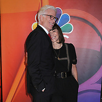 13 May 2019 - New York, New York - Ted Danson and Mary Steenburgen at the NBC 2019/2020 Upfront, at the Four Seasons Hotel.       <br /> CAP/ADM/LJ<br /> ©LJ/ADM/Capital Pictures