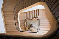 Europe/France/Bretagne/56/Morbihan/Belle-Ile/ Le Palais: Hôtel-Musée de la Citadelle -Citadelle Vauban - Escalier du musée maritime situé dans l'ancien arsenal