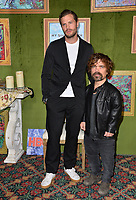 "LOS ANGELES, CA. October 04, 2018: Jamie Dornan & Peter Dinklage at the Los Angeles premiere for ""My Dinner With Herve"" at Paramount Studios.<br /> Picture: Paul Smith/Featureflash"