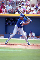 Toronto Blue Jays Roberto Alomar during spring training circa 1991 at Charlotte County Stadium in Port Charlotte, Florida.  (MJA/Four Seam Images)